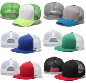 Wholesale 2017 summer style gorras adjustable Blank mesh camo baseball caps snapback hats for men women fashion sports hip hop bone casquette sun hat