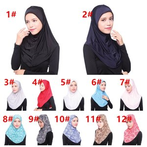 Wholesale New Arrival high quality Mini muslim Women's headscraf hijab multi colors free size arab Women's Head Scarf