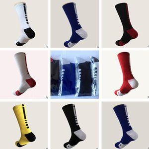 Wholesale Direct selling Stylish Thicken Towel Men s Socks Sport Professional Basketball Elite Sock Basketball Sport Bike Socks