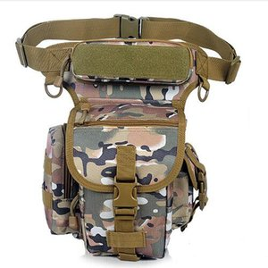 Wholesale Multifunctional outdoor thigh bag multi colors waist and leg bags Cheap D waterproof Oxford fabric tactical waist bag
