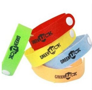 Anti Mosquito Insect Repellent Mosquito Bug Repellent Wrist Band Bracelet GREENLUCK Repellent Band 5000pcs lot