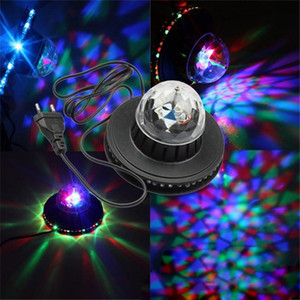 Wholesale The new in one solar flying saucer bar revolving lamp stage lights KTV mini stage lights are selling well