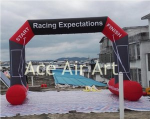new design advertising Customized Free Standing inflatable Sport Arch With REMOVABLE Logo and arch main door design
