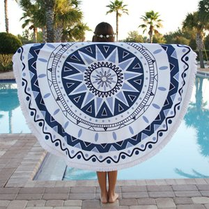 Wholesale-Yoga towel Blanket mandala mat Cotton Blend Multi-Function Also Used as Wall Hanging Decor Art Geometric Print Beach Towel YJD02