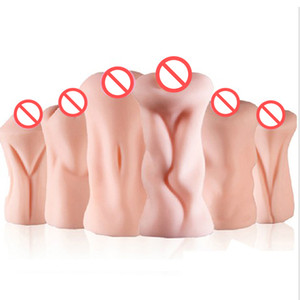 6 Option Realistic Vagina Silicone Sex Doll, Artificial Vagina Real Pocket Pussy, Male Masturbator Sex Cup, Adult Sex Toys for Men