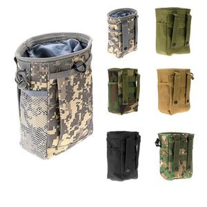 Wholesale Camouflage Bag Military Waist Molle Pack Tactics Outdoor Sport Bag Hunting Folding Mag Recovery Dump Small Pouch