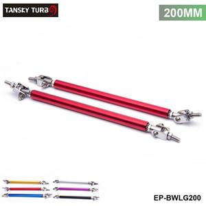 TANSKY -Universal 2Pcs SET 200mm Adjustable Front Bumper Lip Splitter Strut Rod Tie Support Bar For Ford EP-BWLG200