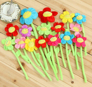 DIY Sun Flowers Plush Toys Baby Room Curtain Clips Buckle Decorative Plants Mix Color Wedding Lover's Gift For Girls