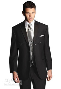 Classic Designer Men Suit Groom Tuxedos Prom Clothing (Jacket+pants+tie+vest) A 6