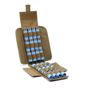 Wholesale 12 gauges resale online - Hunting Ammo Bags Molle Round GA Gauge Ammo Shells Shotgun Reload Magazine Pouches
