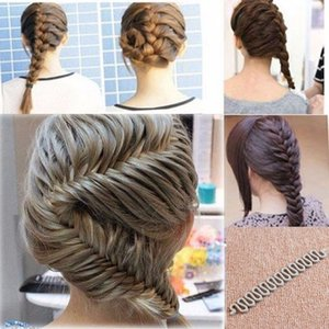 New Fashion Style Black White Gray French Braid Twist Magic Hair Styling Braiding Tool Roller Bun Maker Hook