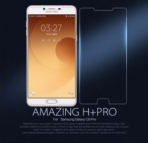 Wholesale Premium Tempered Glass Screen Protector For Samsung Galaxy C9 Pro Toughened Protective Film With Retail Package