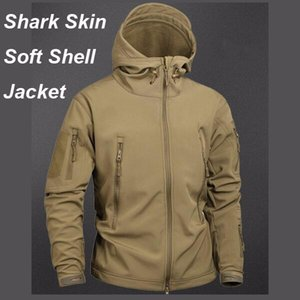 Camouflage Tactical Shark Skin Jacket Waterproof Windbreaker Raincoat Clothes Army TAD Jacket Men Softe Shell Coats And Jackets on Sale