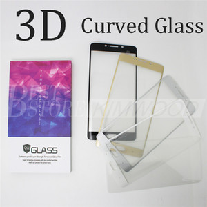 Wholesale Xiaomi Note Xiaomi Mix Full Cover D Curved Side Tempered Glass Screen Protector MM with Colorful Wooden Box