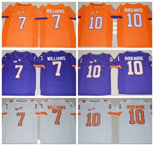 Wholesale NCAA Clemson Tigers Ben Boulware College Football Jersey Embroidery Logos Stitched Men Mike Williams Jerseys Uniforms