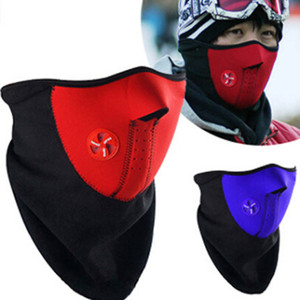 Wholesale 50pcs Riding thermal insulation face masks bicycle windproof and cold proof skiing mask outdoor riding mask face protecting mask