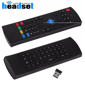 2.4G Remote Control MX3 Air Mouse Wireless Mini Keyboard With IR Learning Mode smart Remote Control Keyboard for Android TV Box
