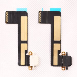 Wholesale For iPad mini USB Charger Dock Connector Charging Port Flex Cable Repair Part Replacement black and white