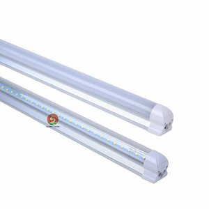 Wholesale hot ft for sale - Group buy HOT ft Led T8 Tubes W FT Led Lights Tubes Integrated mm Led Fluorescent Light AC85 V Factory direct hotsale STOCK IN