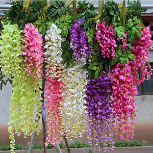 3 Forks Wisteria Artificial Flower
