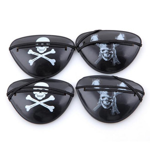 Wholesale Halloween cosplay Pirate Eye Patch Skull Crossbone Halloween Festival Party Favor Bag Costume Kids Toy Eyepatch party masks
