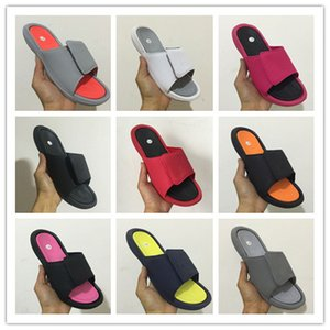 Wholesale VI slippers s red Slide sandals Hydro beach outdoor men shoes casual running Sports sneakers size