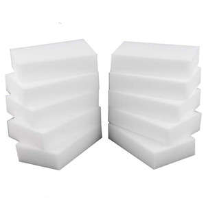 200pcs 10*6*2 cm white magic cleaning melamine sponge Eraser High quality magic sponge esponja magica super cleaning gel