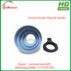 Free shipping Conical scalar ring kit with bracketfor offset dish to c band signal