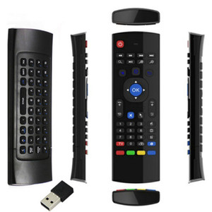 Wholesale 2 GHz Wireless Keyboard MX3 IR Learning Mode Fly Air Mouse Remote Control for Android Smart TV Box