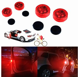 Wholesale CarBest Car Door Safety Light Reflector Anti Collision Warning LED Lights New Proximity Switch System Instant Switch On Off No Wiring