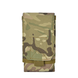 Wholesale Waist Bag For Mobile Phone Bags Military Fans Tactical Pockets Hunting Outdoor Sports Wear A Belt Wallet Holder Pouch Fashion lw F