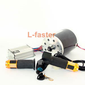 36V48V 1000W Unitemotor MY1020 Motor With Throttle And Controller High Power Electric Scooter Chain Drive Engine DIY Gocart Kit