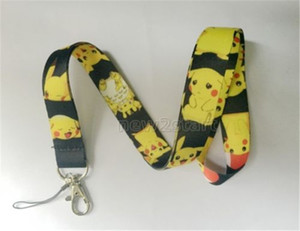Wholesale New Design Pikachu My Neighbor Totoro Anime Mobile Cell Phone Lanyard Neck Straps Party Gifts