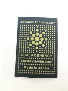 Advance Technology Energy Saver Chip Anti Radiation Sticker Electromagnetic Radiation Shield