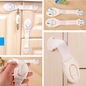 Wholesale Baby Products Safety Drawer hasp Multi function household cabinet door Refrigerator safety lock Child protection lock IA823