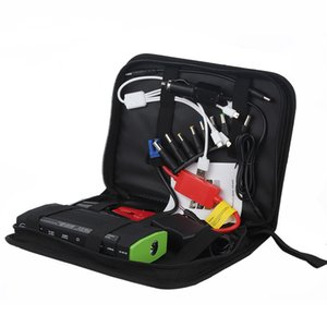 Wholesale 12V Portable Car Jump Starter mAh Car Jumper Booster Power bank Battery Charger for Mobile Phone Laptop car