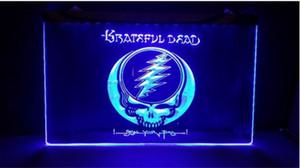 b247 Grateful Dead logo beer bar pub 3d signs LED Neon Light Sign home decor crafts