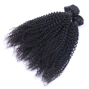 High Quality Unprocessed Brazilian Malaysian Peruvian Kinky Curly Remy Virgin Human 30 Inch Hair Extensions Hair Weave Free Shipping
