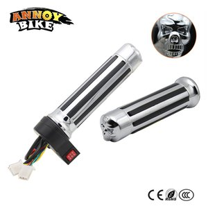 Wholesale Cool Skull head Design Throttle For E bike E scooter Crusie Reverse speed For you