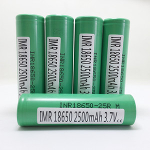 Wholesale Authentic Guarantee - 2500mah 18650 Rechargeable Battery 18650INR 25R 20A Discharge High Drain Batteries With Samsung MSDS Quality Report