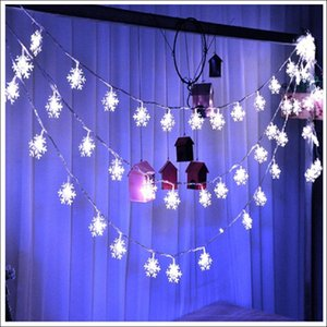 Wholesale halloween strip Snow LED strip M leds fairy string decorative christmas tree holiday wedding room party new years day