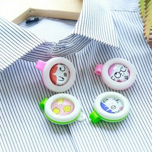 Wholesale summer baby mosquito buckle cartoon kids adult pregnant woman anti mosquito button bug repellent for night hiking travel