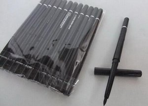 Wholesale best eyeliners for sale - Group buy FREE SHIPPIN HOT good quality Lowest Best Selling good sale NEW Makeup Automatic rotating and telescopic waterproof eyeliner black and brown