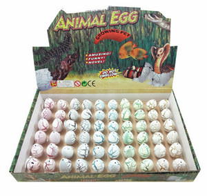 Novel Water Hatching Inflation Dinosaur Egg Watercolor Cracks Grow Egg Educational Toys Interesting Gift