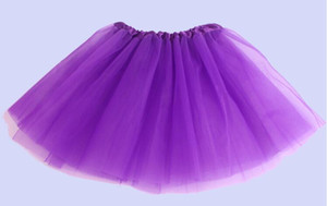 Wholesale 2015 girl candy color kids ballet skirt layers ball gown Cake skirts tutu pettiskirt Net yarn sequins dancing tutu skirts