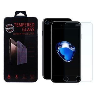 Wholesale For Iphone Tempered Glass Screen Protectors For LG Aristo V3 Iphone Plus Iphone D Explosion Shatter Screen Protector Film In box