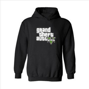 Wholesale Funny GTA Hooded Long Hoodie Men Hip Hop in GTA5 Grand Theft Auto New Brand Sweatshirt Men Hoodies Fashion Solid for Couples