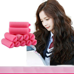 Wholesale hair curler Roll roller Soft Sponge Twist Hair Care Styling stick Roller DIY tools harmless safe small roseo for women lady girls