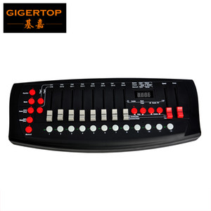 TP-D02 192 Stage Light Controller Black Color Mini Size Music Active Scene Chase Edit Running Customerized Lighting Program Making on Sale