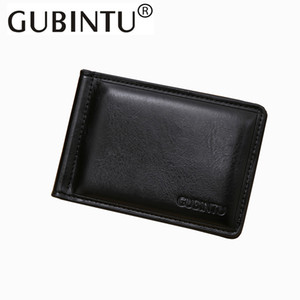 Wholesale Gubintu New Fashion Money Clips Currency Wallet Money Id Pocket Holder Slim Stainless Steel Money Clip With Zipper Coin Pocket